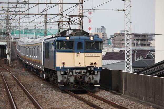 南武線E233系8000番台N5編成 配給輸送 5