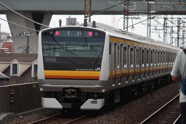 南武線E233系8000番台N5編成 配給輸送 後追い
