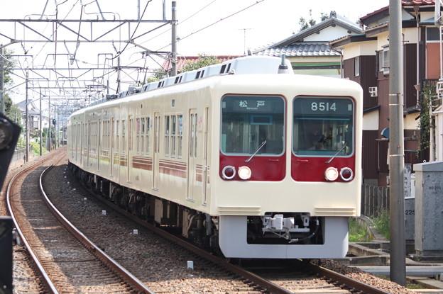 新京成電鉄8500形8514編成 松戸行