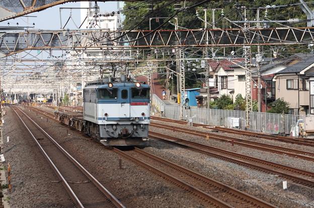 配8592レ EF65 2068牽引