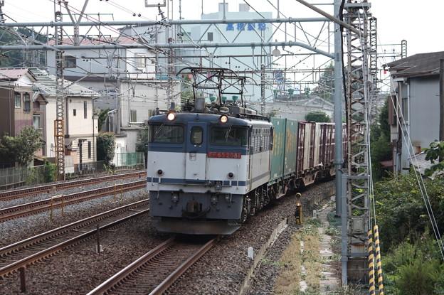 74レ EF65 2081牽引 4