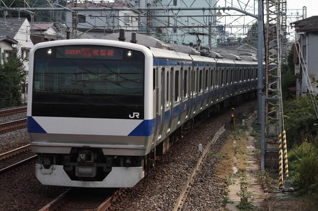 常磐線 E531系K453編成 3389M 特別快速土浦行
