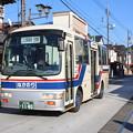Photos: 笠間稲荷付近を走る茨城交通