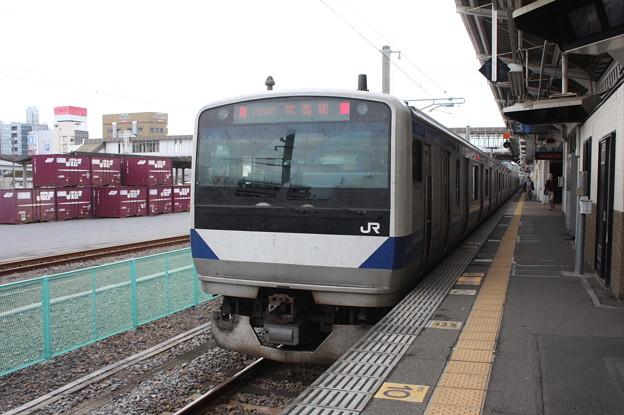E531系K409編成 1364M 普通上野行