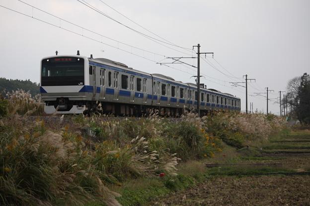 E531系K455編成 552M 普通土浦行