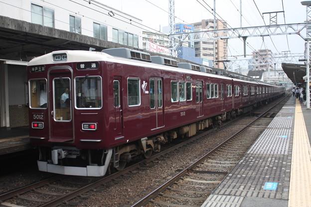 阪急5000系5012F