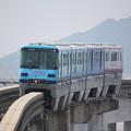 Photos: 大阪モノレール2000系2114F イオンラッピング