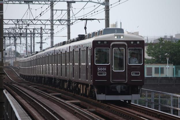 Photos: 阪急5000系5001F