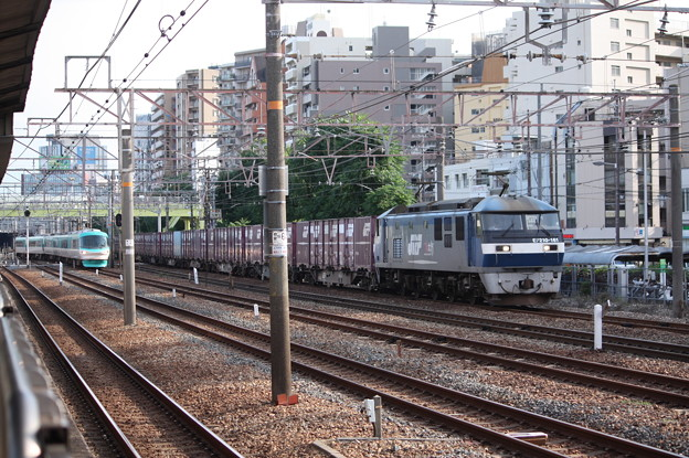 EF210-161牽引コンテナ貨物 (2)