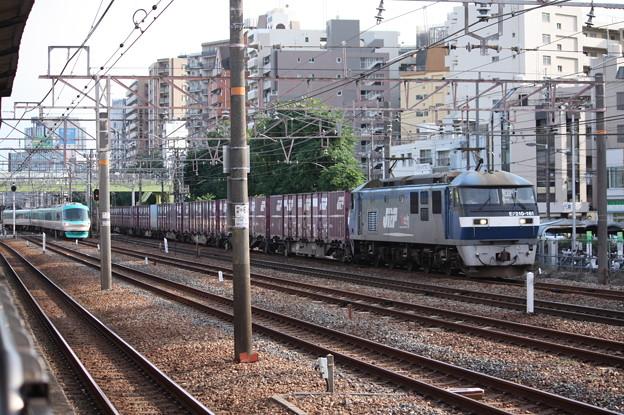 EF210-161牽引コンテナ貨物 (3)