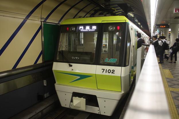 大阪市営地下鉄長堀鶴見緑地線70系7102F