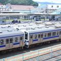 高萩駅留置されている415系1500番台 (9)