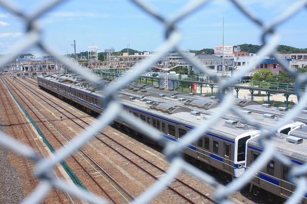 Photos: 高萩駅留置されている415系1500番台 (12)