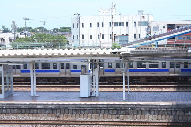 Photos: 高萩駅留置されている415系1500番台 (13)
