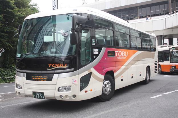 東武バス 9917号車