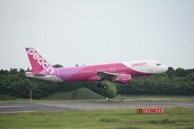 ピーチ エアバスA320-200 JA802P (1)