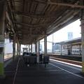 Photos: 鳥取駅1番・2番のりば ホーム