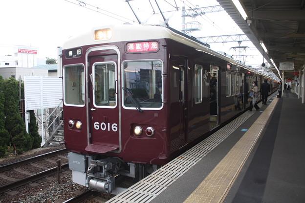 阪急神戸線 6000系6016F