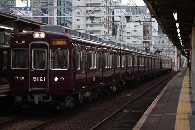 阪急宝塚線 5100系5121F