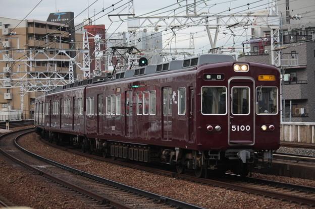 阪急宝塚線 5100系5100F (1)