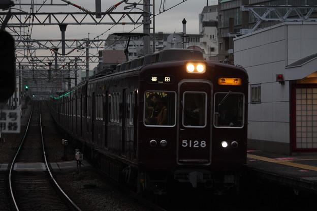 阪急宝塚線 5100系5128F