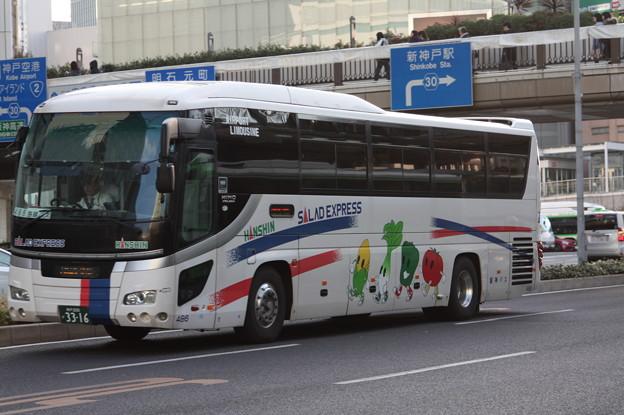 阪神バス 486号車