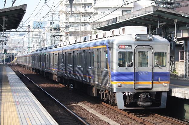 南海高野線 6300系6734F