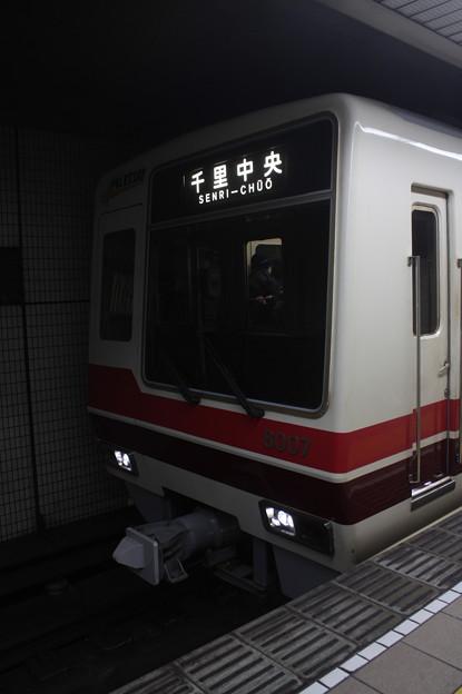 大阪市営地下鉄御堂筋線 北大阪急行8000形8007F