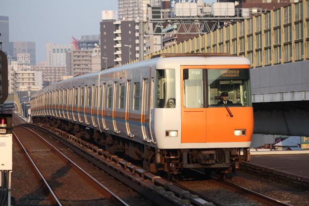 大阪市営地下鉄中央線 近鉄7000系7123F