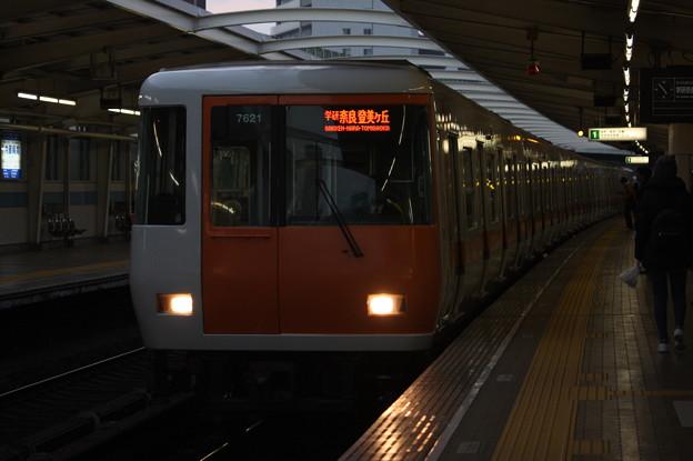 大阪市営地下鉄中央線 近鉄7000系7121F