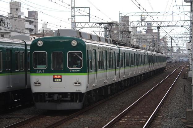 京阪本線 2200系2261F