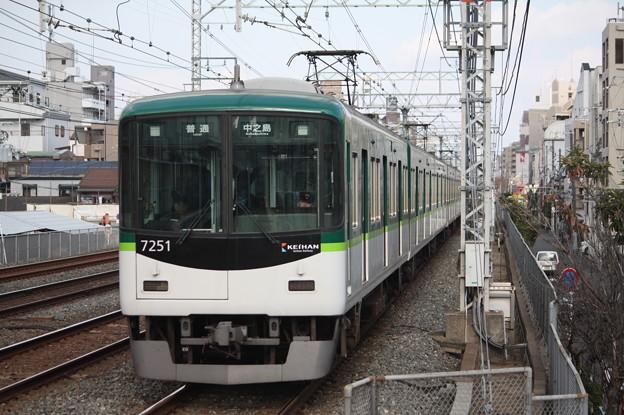 京阪本線 7200系7251F