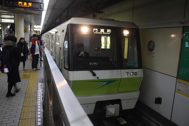 大阪市営地下鉄長堀鶴見緑地線 70系7120F