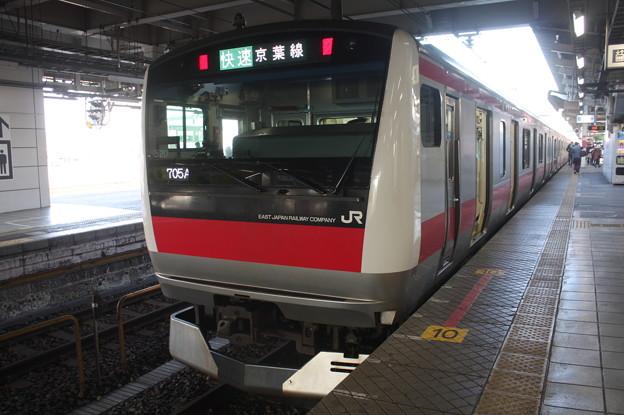 京葉線 E233系5000番台ケヨ520編成