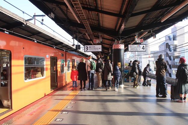 大阪環状線 西九条駅 3番線・4番線ホーム