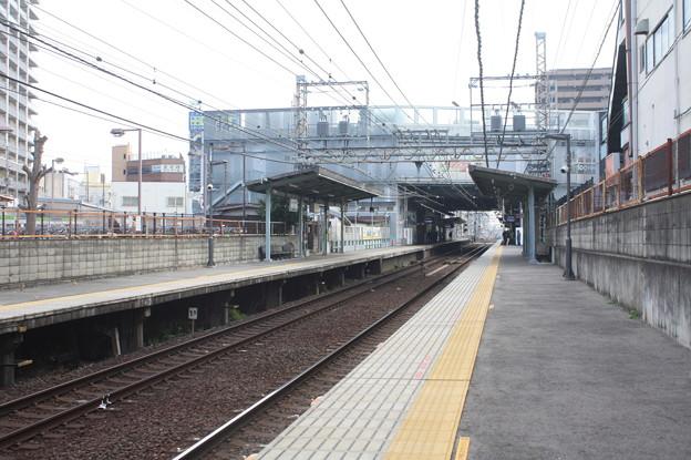 南海高野線 三国ヶ丘駅 ホーム