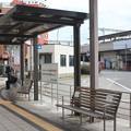 写真: 六甲道駅バスプール