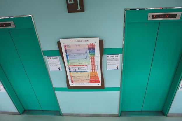 神戸ポートタワーのエレベーター IMG_123104