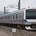 常磐線 E531系K462編成 737M 普通勝田行