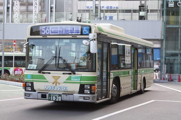 大阪市営バス 17-1020号車
