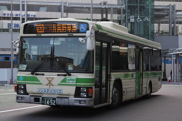 大阪市営バス 20-1452号車