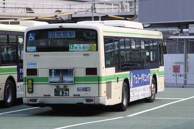 大阪市営バス 36-0829号車 後部