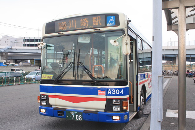 川崎鶴見臨港バス 1A304号車