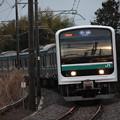 水戸線 E501系K751編成 762M 普通小山行 (1)