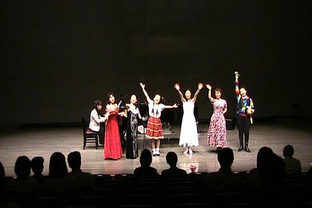 宮益坂少女歌劇団ステージエンディング