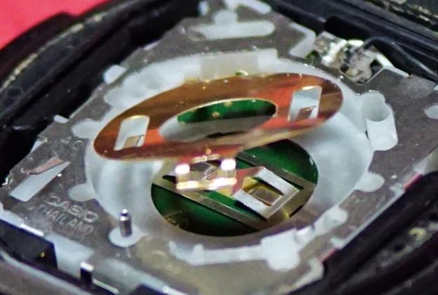 CASIO電池交換実行