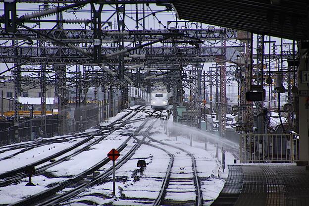 新幹線ひかり 米原駅