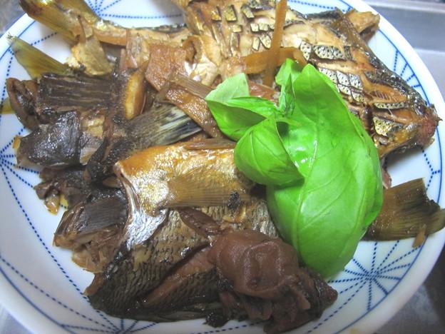 メイタとマゴチ、コノシロの梅酢煮──ヒンナ!!