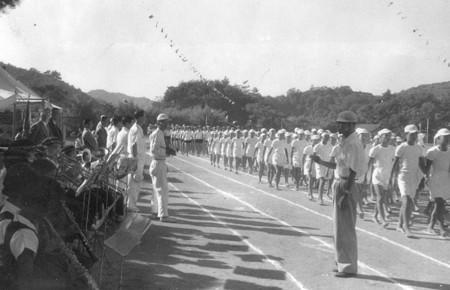 土々呂中運動会 1960