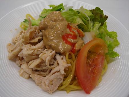 セブンイレブン サラダ仕立ての冷製バンバンジー麺